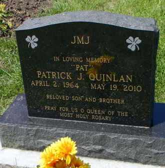 "QUINLAN, PATRICK J ""PAT"" - Pottawatomie County, Kansas | PATRICK J ""PAT"" QUINLAN - Kansas Gravestone Photos"