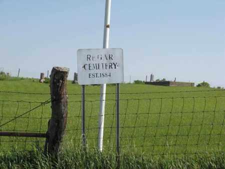 *REGAR,  - Pottawatomie County, Kansas |  *REGAR - Kansas Gravestone Photos