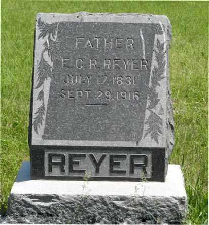 REYER, E C R - Pottawatomie County, Kansas | E C R REYER - Kansas Gravestone Photos