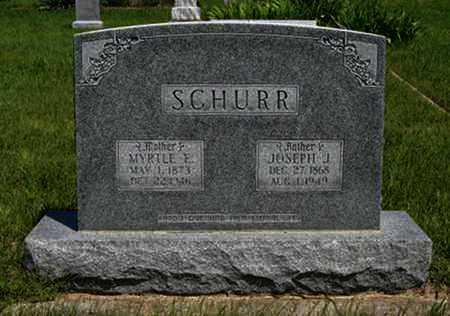 SCHURR, JOSEPH J - Pottawatomie County, Kansas   JOSEPH J SCHURR - Kansas Gravestone Photos