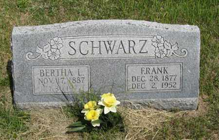SCHWARZ, FRANK - Pottawatomie County, Kansas | FRANK SCHWARZ - Kansas Gravestone Photos