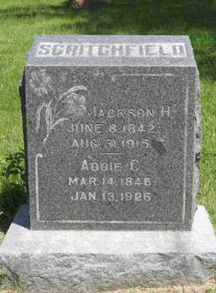 SCRITCHFIELD, JACKSON H - Pottawatomie County, Kansas | JACKSON H SCRITCHFIELD - Kansas Gravestone Photos