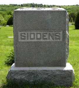 SIDDENS, FAMILY MONUMENT - Pottawatomie County, Kansas | FAMILY MONUMENT SIDDENS - Kansas Gravestone Photos