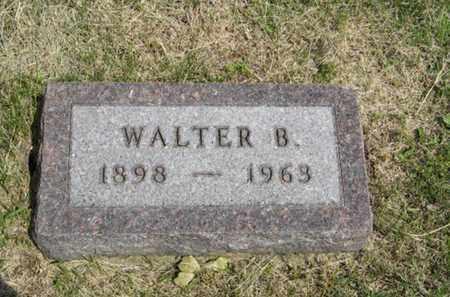 TESKE, WALTER B - Pottawatomie County, Kansas | WALTER B TESKE - Kansas Gravestone Photos
