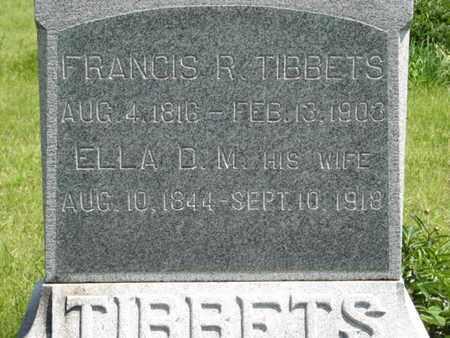 TIBBETS, ELLA D  M - Pottawatomie County, Kansas | ELLA D  M TIBBETS - Kansas Gravestone Photos