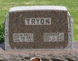 TYRON, GORDNER J - Pottawatomie County, Kansas | GORDNER J TYRON - Kansas Gravestone Photos