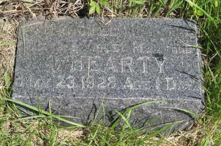 WHEARTY, DONALD EDWARD - Pottawatomie County, Kansas   DONALD EDWARD WHEARTY - Kansas Gravestone Photos
