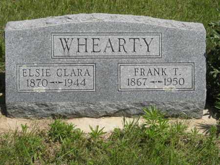 WHEARTY, ELSIE CLARA - Pottawatomie County, Kansas | ELSIE CLARA WHEARTY - Kansas Gravestone Photos