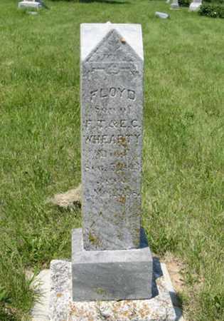 WHEARTY, FLOYD - Pottawatomie County, Kansas | FLOYD WHEARTY - Kansas Gravestone Photos
