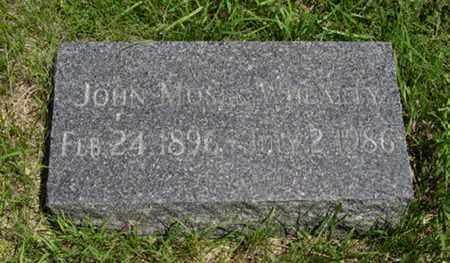 WHEARTY, JOHN MOSES - Pottawatomie County, Kansas | JOHN MOSES WHEARTY - Kansas Gravestone Photos