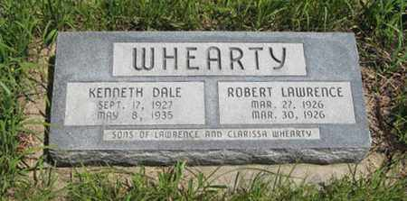 WHEARTY, KENNETH DALE - Pottawatomie County, Kansas | KENNETH DALE WHEARTY - Kansas Gravestone Photos