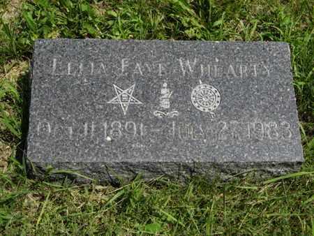 WHEARTY, LELIA FAYE - Pottawatomie County, Kansas | LELIA FAYE WHEARTY - Kansas Gravestone Photos
