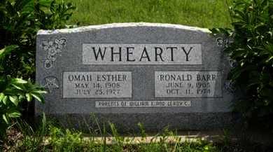 WHEARTY, OMAH ESTHER - Pottawatomie County, Kansas | OMAH ESTHER WHEARTY - Kansas Gravestone Photos