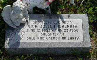 WHEARTY, VIDA JOLEEN - Pottawatomie County, Kansas | VIDA JOLEEN WHEARTY - Kansas Gravestone Photos