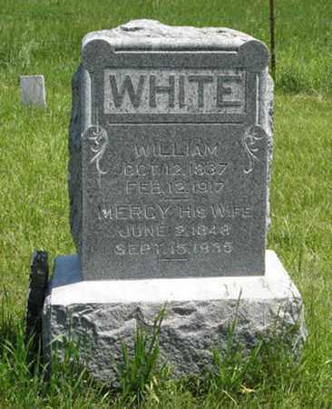 WHITE, MERCY - Pottawatomie County, Kansas | MERCY WHITE - Kansas Gravestone Photos