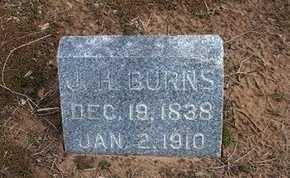 BURNS, JAMES H - Pratt County, Kansas | JAMES H BURNS - Kansas Gravestone Photos