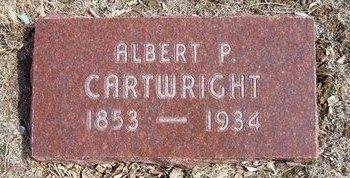 CARTWRIGHT, ALBERT P - Pratt County, Kansas | ALBERT P CARTWRIGHT - Kansas Gravestone Photos