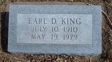KING, EARL D - Pratt County, Kansas | EARL D KING - Kansas Gravestone Photos