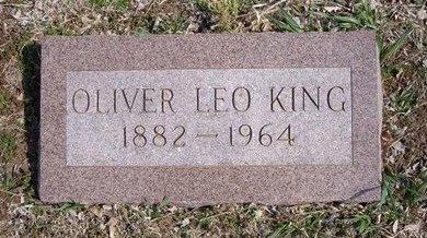 KING, OLIVER LEO - Pratt County, Kansas   OLIVER LEO KING - Kansas Gravestone Photos