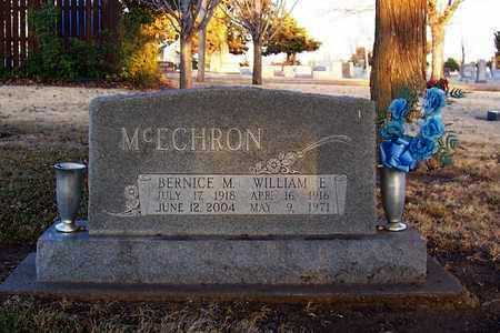 MCECHRON, WILLIAM E - Pratt County, Kansas | WILLIAM E MCECHRON - Kansas Gravestone Photos