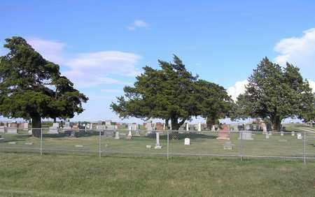 *OVERVIEW, COATS CEMETERY - Pratt County, Kansas | COATS CEMETERY *OVERVIEW - Kansas Gravestone Photos