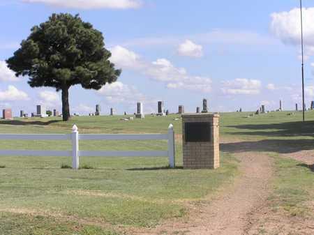 *OVERVIEW, SUNSET CEMETERY - Pratt County, Kansas | SUNSET CEMETERY *OVERVIEW - Kansas Gravestone Photos