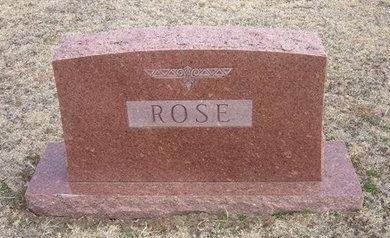 ROSE, FAMILY STONE - Pratt County, Kansas | FAMILY STONE ROSE - Kansas Gravestone Photos