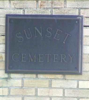 *SIGN POST, SUNSET CEMETERY - Pratt County, Kansas   SUNSET CEMETERY *SIGN POST - Kansas Gravestone Photos