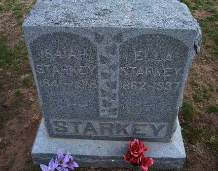 STARKEY, ISAIAH - Pratt County, Kansas   ISAIAH STARKEY - Kansas Gravestone Photos
