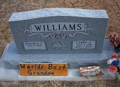 WILLIAMS, LARRY ALDENE - Pratt County, Kansas | LARRY ALDENE WILLIAMS - Kansas Gravestone Photos