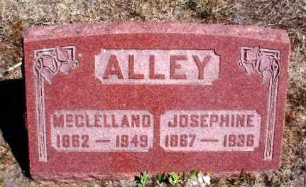 "ALLEY, CYRUS MCCLELLAND ""CLELL"" - Rawlins County, Kansas | CYRUS MCCLELLAND ""CLELL"" ALLEY - Kansas Gravestone Photos"
