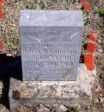 ANDERSON, GUY S - Rawlins County, Kansas   GUY S ANDERSON - Kansas Gravestone Photos