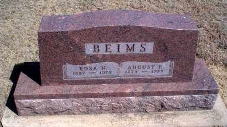 "BEIMS, AUGUST FRIEDRIG ""GUS"" - Rawlins County, Kansas | AUGUST FRIEDRIG ""GUS"" BEIMS - Kansas Gravestone Photos"