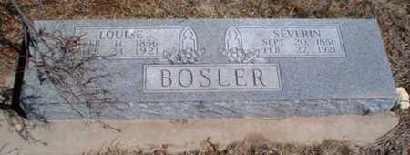 BOSLER, LOUISE - Rawlins County, Kansas | LOUISE BOSLER - Kansas Gravestone Photos