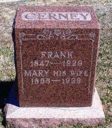 CERNEY, MARY - Rawlins County, Kansas | MARY CERNEY - Kansas Gravestone Photos