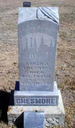 CHESMORE, ABNER JOHN - Rawlins County, Kansas | ABNER JOHN CHESMORE - Kansas Gravestone Photos