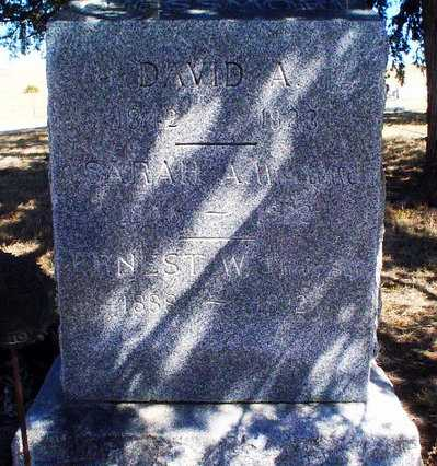 CHESSMORE, DAVID ASAHEL - Rawlins County, Kansas | DAVID ASAHEL CHESSMORE - Kansas Gravestone Photos