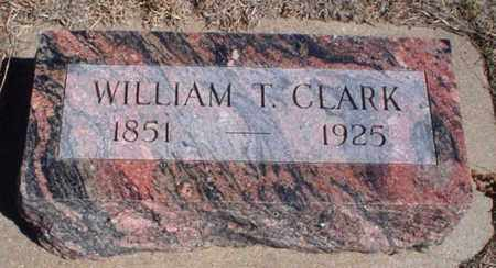 CLARK, WILLIAM T - Rawlins County, Kansas | WILLIAM T CLARK - Kansas Gravestone Photos