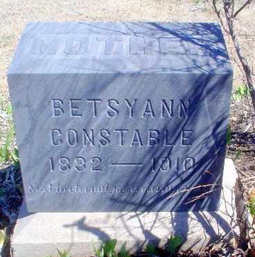 CONSTABLE, BETSY ANN - Rawlins County, Kansas   BETSY ANN CONSTABLE - Kansas Gravestone Photos