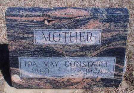 HEISTER CONSTABLE, IDA MAY - Rawlins County, Kansas | IDA MAY HEISTER CONSTABLE - Kansas Gravestone Photos