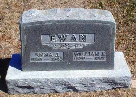 EWAN, EMMA J - Rawlins County, Kansas   EMMA J EWAN - Kansas Gravestone Photos