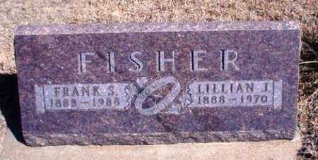 FISHER, FRANK S - Rawlins County, Kansas | FRANK S FISHER - Kansas Gravestone Photos
