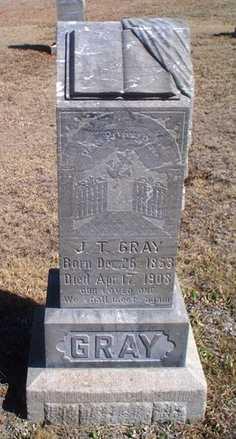 GRAY, J T - Rawlins County, Kansas   J T GRAY - Kansas Gravestone Photos
