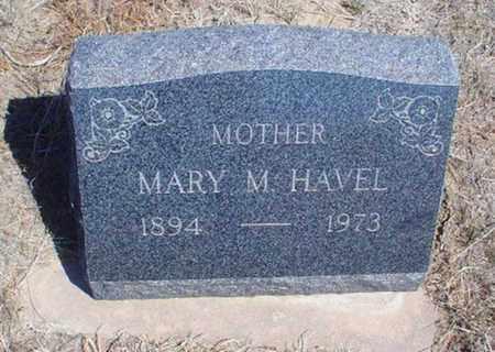 RICHMAN HAVEL, MARY M - Rawlins County, Kansas   MARY M RICHMAN HAVEL - Kansas Gravestone Photos