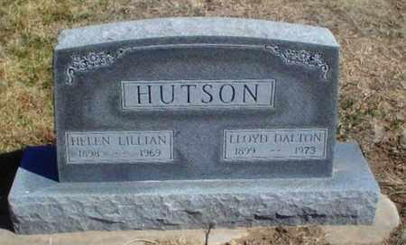 HUTSON, HELEN LILLIAN - Rawlins County, Kansas | HELEN LILLIAN HUTSON - Kansas Gravestone Photos