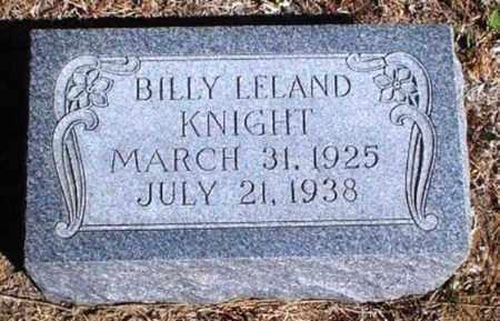 KNIGHT, BILLY LELAND - Rawlins County, Kansas | BILLY LELAND KNIGHT - Kansas Gravestone Photos