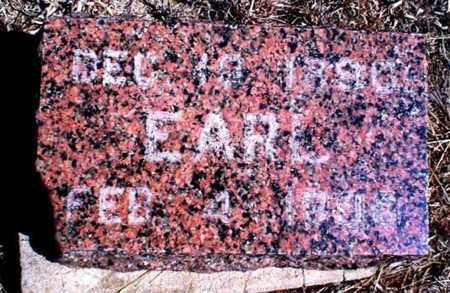 MCINTOSH, EARL - Rawlins County, Kansas | EARL MCINTOSH - Kansas Gravestone Photos