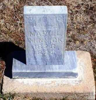 MINNICK, MARILL - Rawlins County, Kansas | MARILL MINNICK - Kansas Gravestone Photos