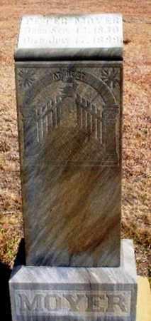 MOYER, PETER - Rawlins County, Kansas   PETER MOYER - Kansas Gravestone Photos