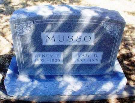 MUSSO, RENNEY E - Rawlins County, Kansas | RENNEY E MUSSO - Kansas Gravestone Photos